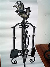 Osprzęt kominkowy - Kowalstwo Artystyczne - Edward Danaj